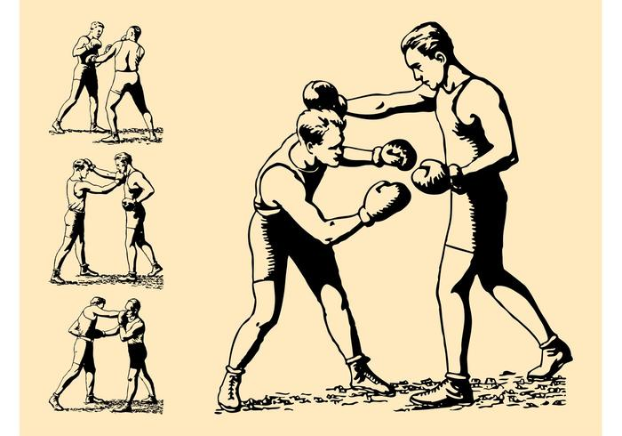 Retro Boxing Graphics