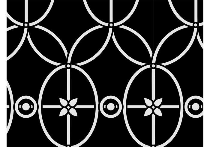 Vintage Floral Pattern Graphics