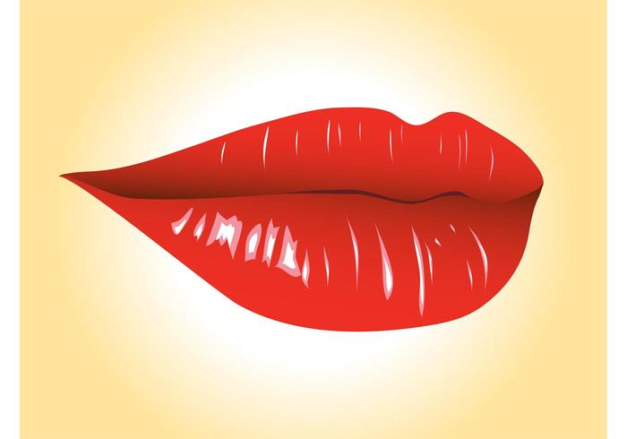 Sexy Lips Vector Graphics