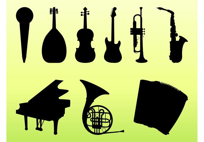 Musical Instruments Graphics Set
