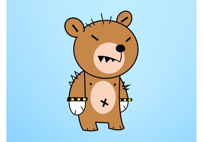 Cartoon Bear Character