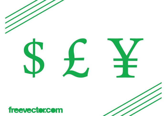 Currency Symbols Vector