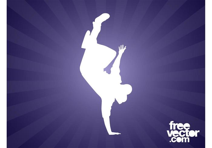 Breakdancer Silhouette