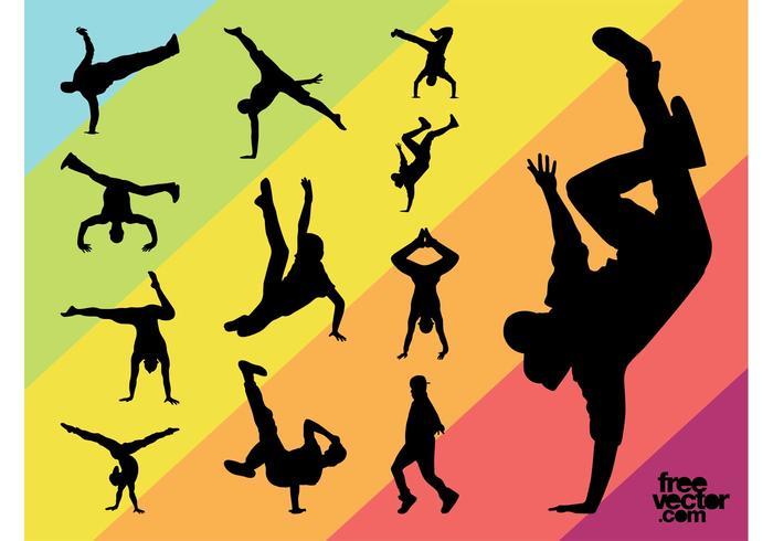 Breakdancers Graphics Set