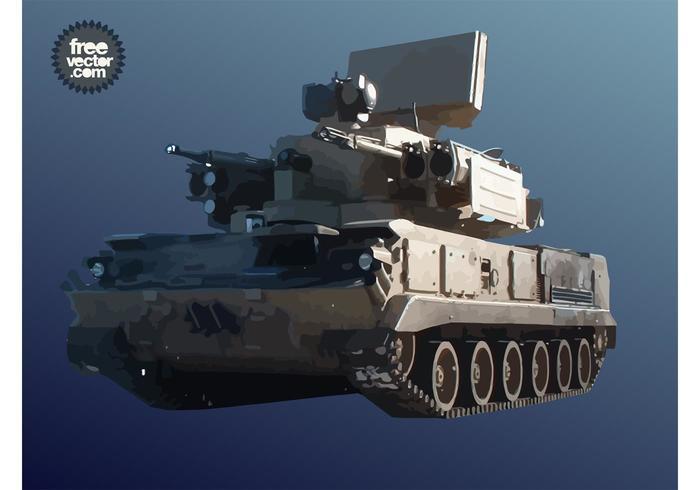 Military Tank Graphics