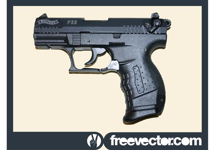 Walther P22 Gun