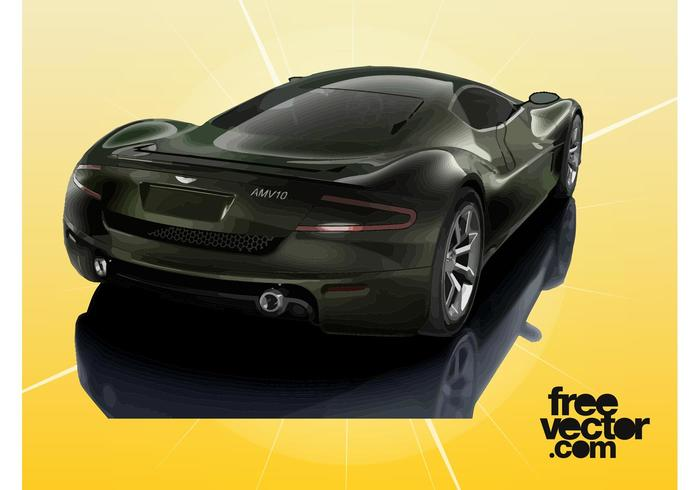 Aston Martin AMV10 Graphics