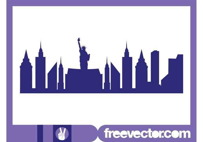 New York Skyline Graphics