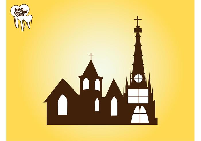 Church Vector Graphics