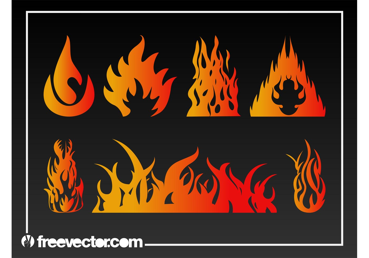 Flames Vector Graphics Download Free Vector Art Stock