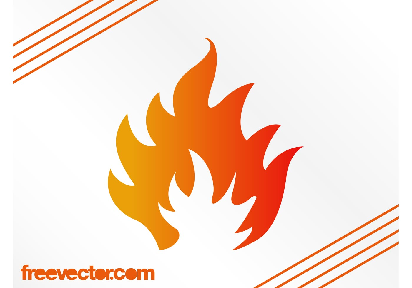 Stylized Flame Graphics Download Free Vector Art Stock