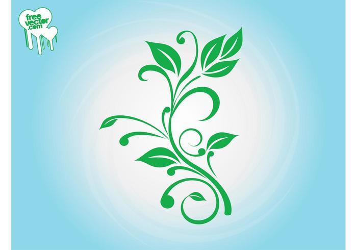 Fresh Plant Silhouette