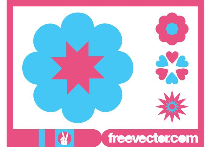 Blossoms Icons Graphics