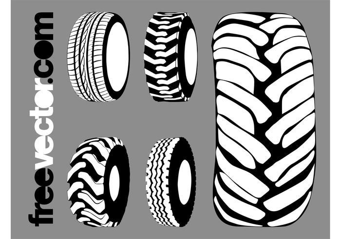 Tires Graphics Set
