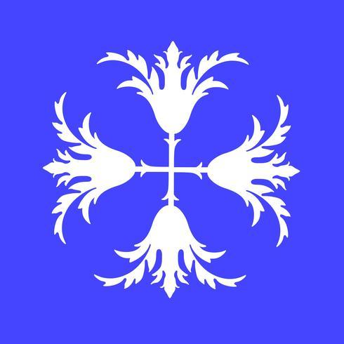 Retro Flower Icon