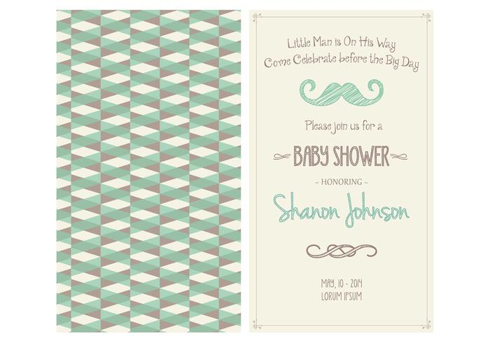 Baby boy shower invitation vector download vetores e grficos baby boy shower invitation vector stopboris Choice Image