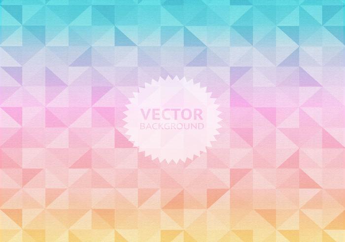 Pastel Geometric Background Vector