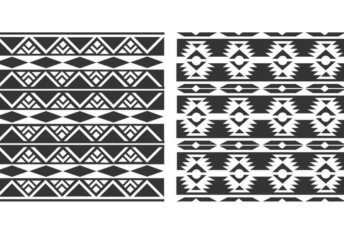 Nativo Navajo Vector Patrones
