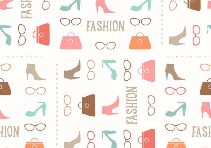 Seamless Fashion Vector Pattern