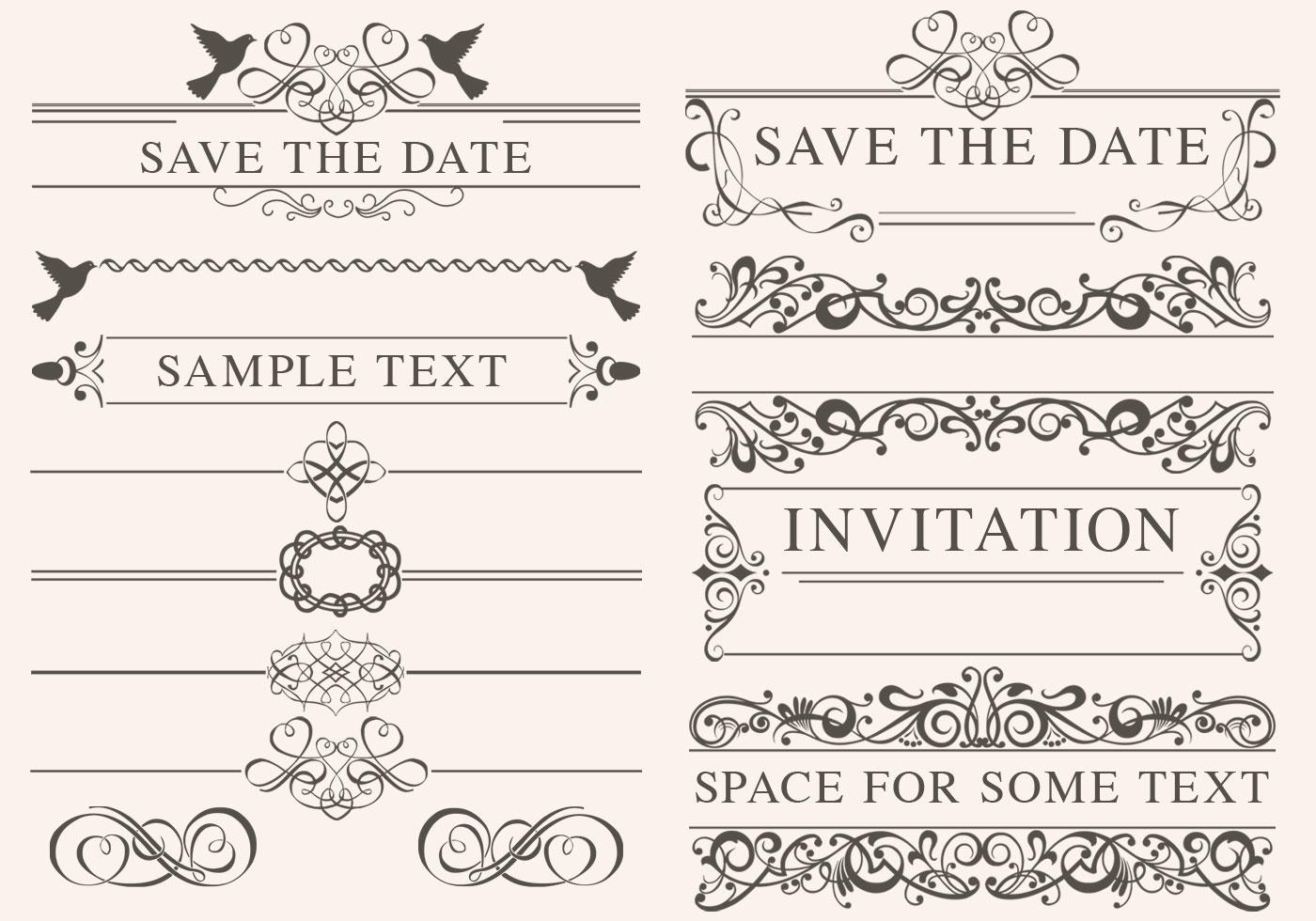 Vintage wedding ornament vectors download free vector art stock vintage wedding ornament vectors download free vector art stock graphics images junglespirit Image collections