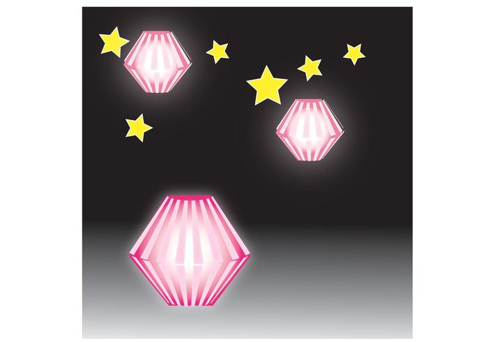 pink lantern