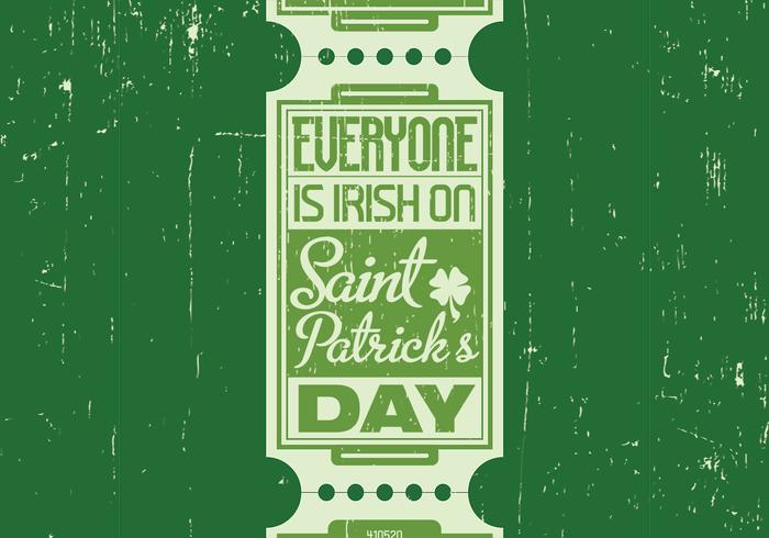 Irish St. Patrick's Day Vector