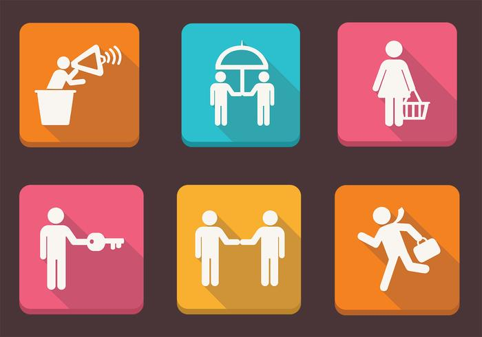 Business People Icons II Vector Pack