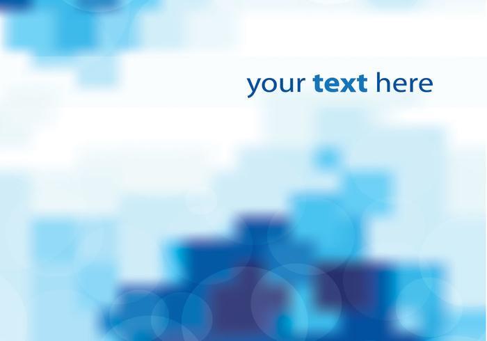 Blue Blurred Background Vector
