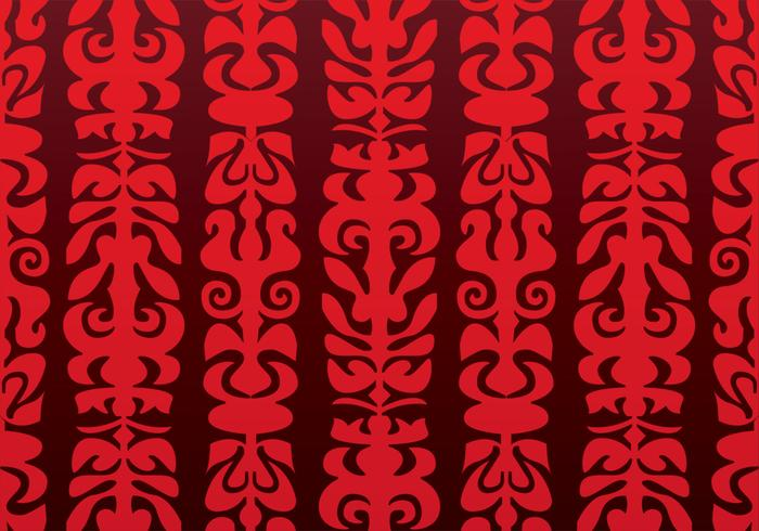 Native Red Vector Background