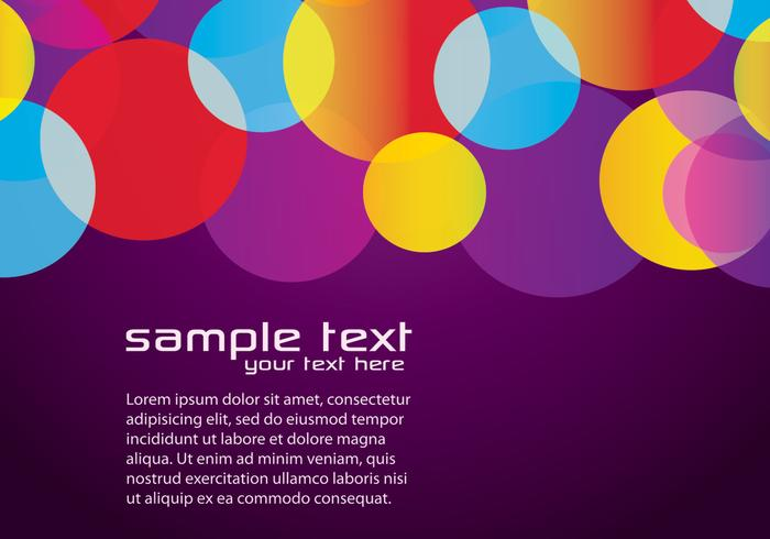 Purple Colorful Background Two Vector