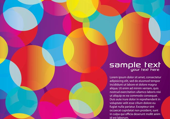 Purple Colorful Background Three Vector