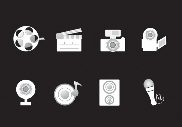 Media Icons Vector Pack
