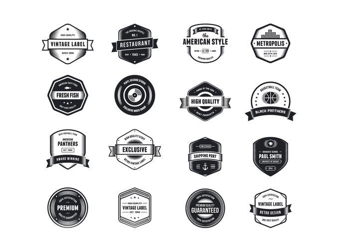 Vintage Logo Vector Pack Two