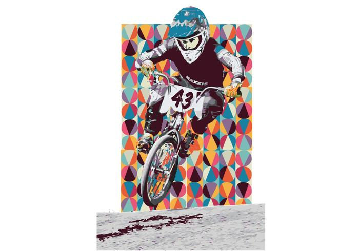 USA BMX Vector Nashville Retro Tuck