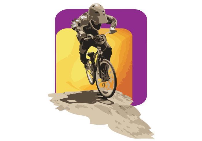 USA BMX Vector 2014 Rider Art