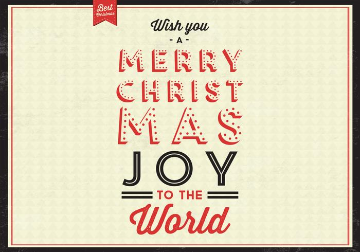 Christmas Joy Vector Background