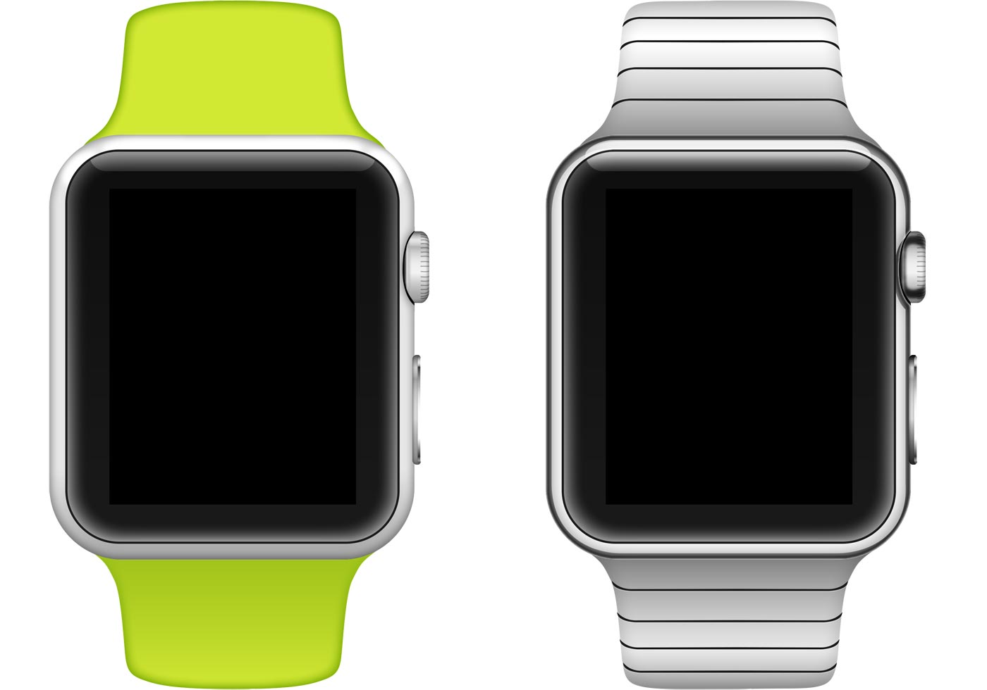 Apple Watch Vector Free Vector Art At Vecteezy