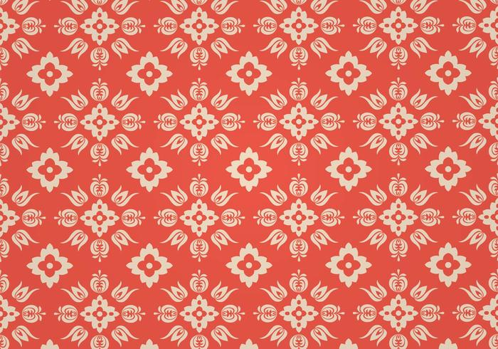 Coral Vector Pattern