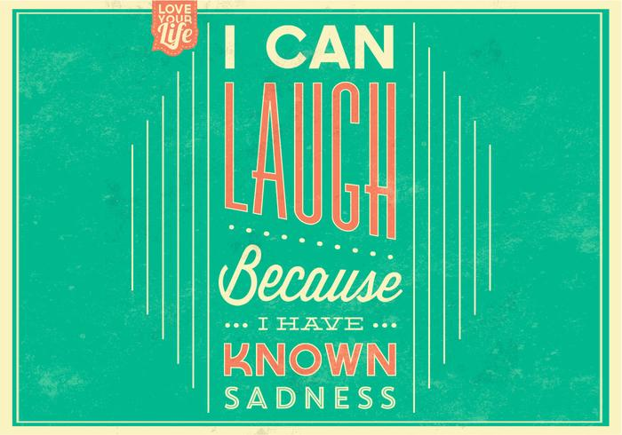Laugh Poster Vector Background