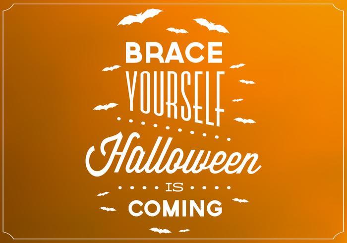 Halloween Poster Vector Background