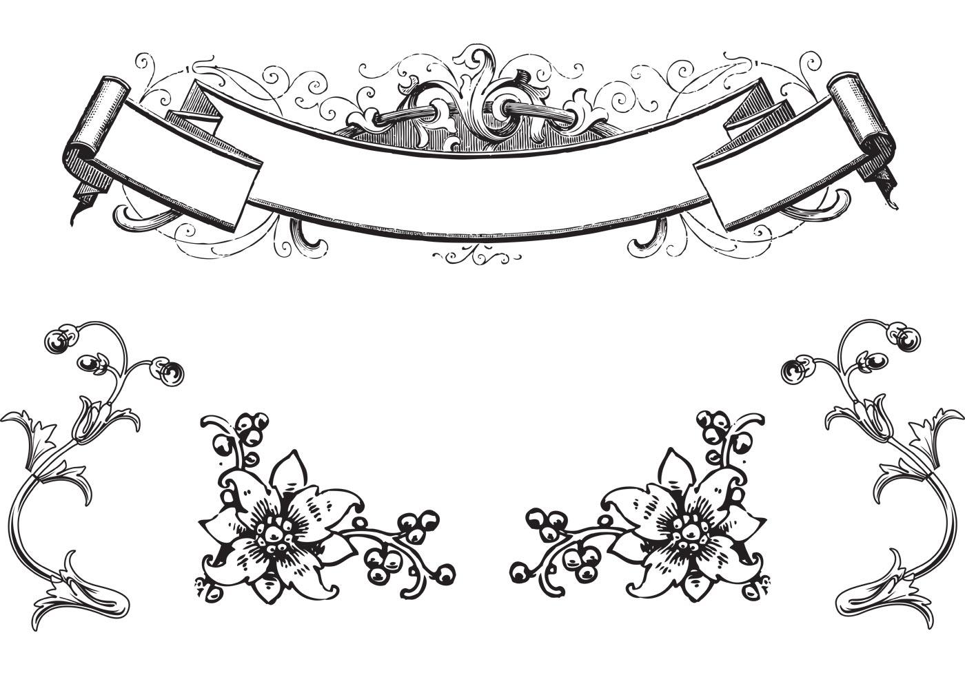 free antique ornaments   scroll vectors download free paint brush stroke vector paint stroke vector free download