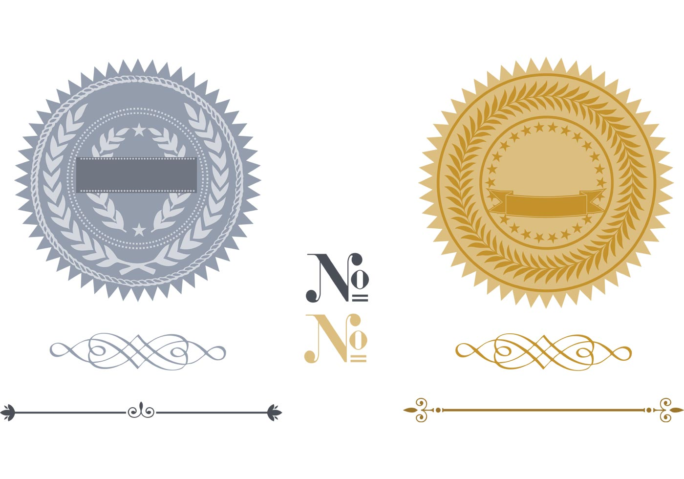 Free Certificate And Seals Pack Download Free Vector Art Stock
