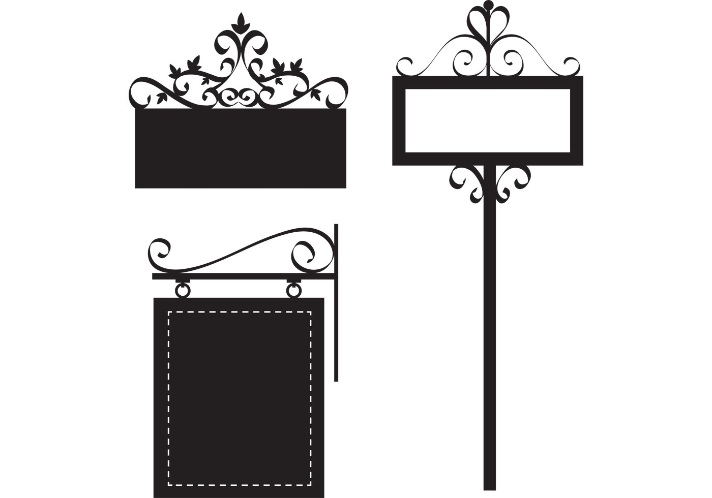 Free Ornate Sign Vectors - Download Free Vectors, Clipart ...