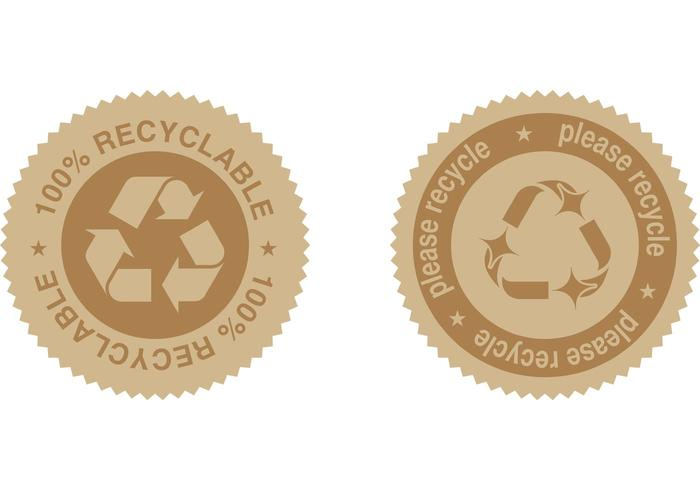 Free Recycle Label Vectors