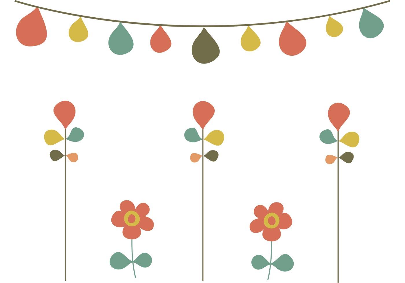 Free Spring Garden Vectors Download Free Vector Art