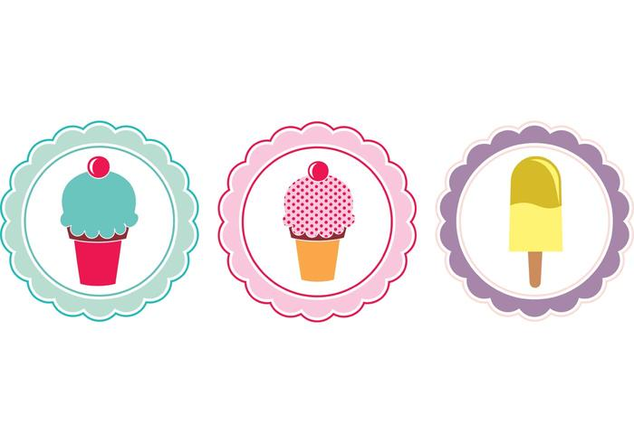 Free Sweet Tags Vectors
