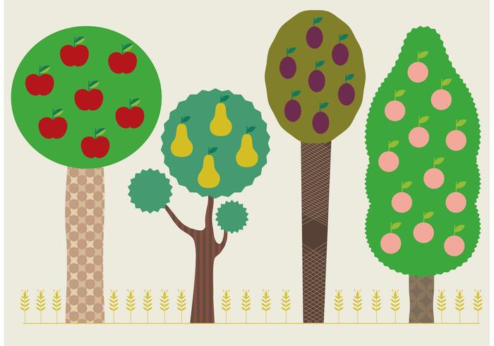 Summer Tree Vectors