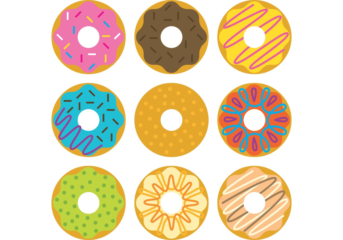 free vector donuts illustrations download free vector donut clipart pics donut clip art free