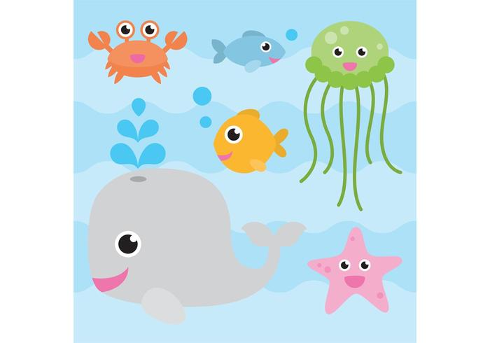Sea Animal Vectors