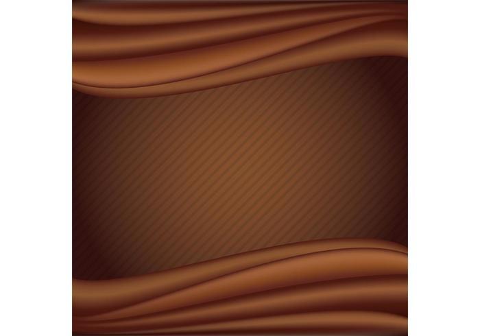 Flüssige Schokolade Vektor Hintergrund